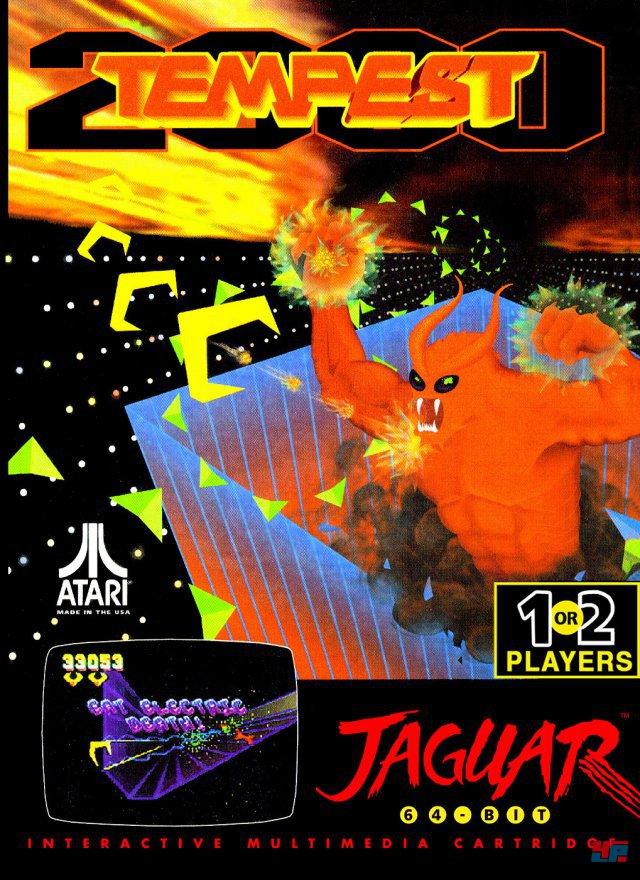 Im Weltraum ist die Hölle los: Neben Minters durchgeknalltem Remake mit Minotauren & Co ist auch das Ur-Tempest aus dem Jahr 1981 enthalten.