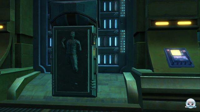 Das ist nicht Han Solo. Ist aber auch gut so, denn ich bin wahrlich nicht Leia...