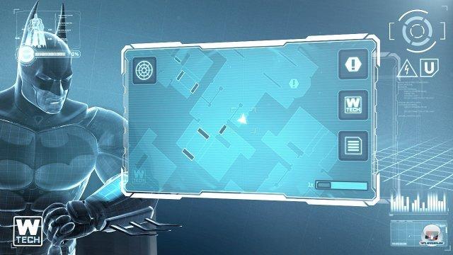 Der Touchscreen kommt vor allem f�r Men�s und Gadgets zum Einsatz.