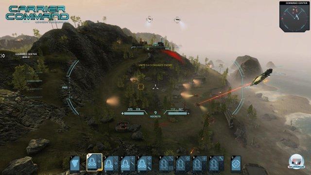 Action: Das Kommandozentrum muss vernichtet werden.