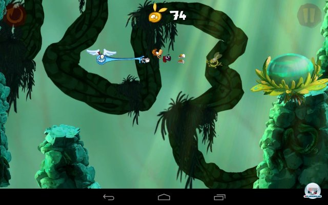 Screenshot - Rayman Jungle Run (Android) 92438942