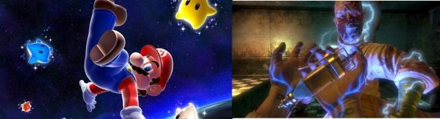Jahr 2007: <br><br> Und schon wieder Mario, aber dieses Mal in 3D und auch schon mal kopfüber: Mit Super Mario Galaxy erschuf Nintendo endlich einen würdigen Nachfolger zu Mario 64 - und einen System Seller für die Wii. Doch auch das atmosphärische BioShock konnte mit seinem einzigartigen Artdesign die 94er-Marke knacken. Dieser raste WipEout Pulse mit einer Wertung von 93% noch hinterher... 2182948