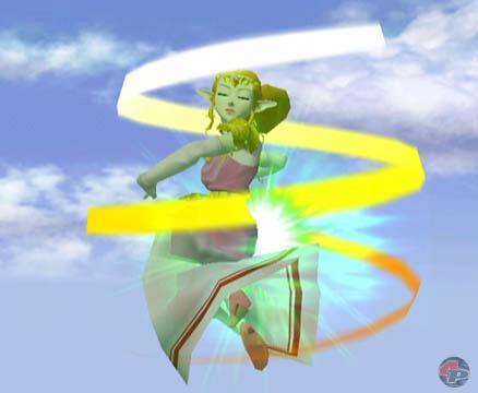 Mit dem wütenden Wind-Zauber bläst sie die Gegner vom Feld. 21701