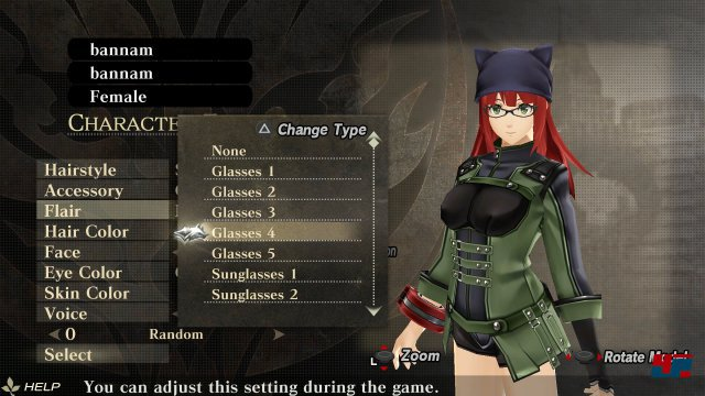 Screenshot - God Eater Resurrection (PC)