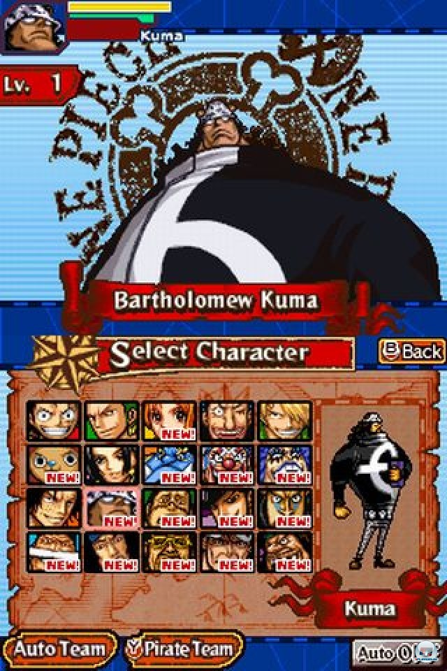 Screenshot - One Piece: Gigant Battle (NDS) 2216508