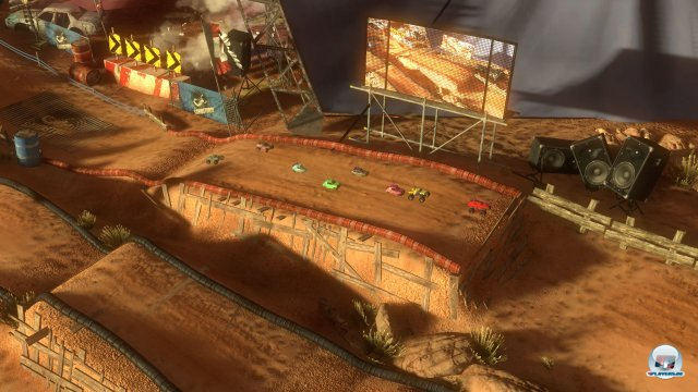 Screenshot - MotorStorm RC (PlayStation3)