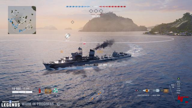 Screenshot - World of Warships (PS4) 92572411