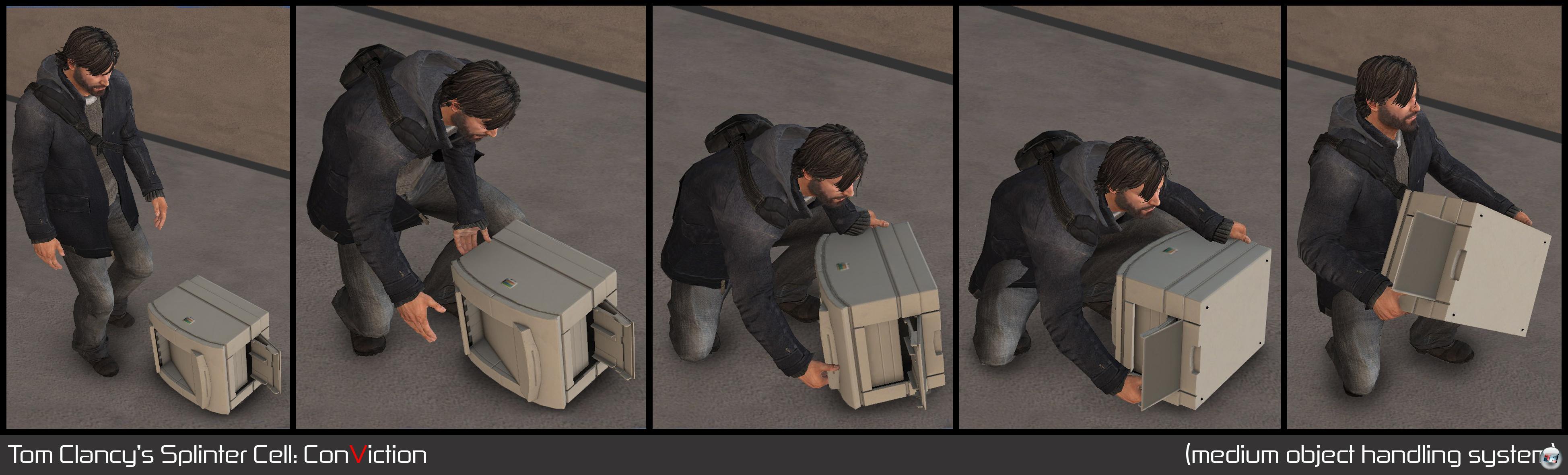 Splinter Cell: Conviction / Ранняя версия.
