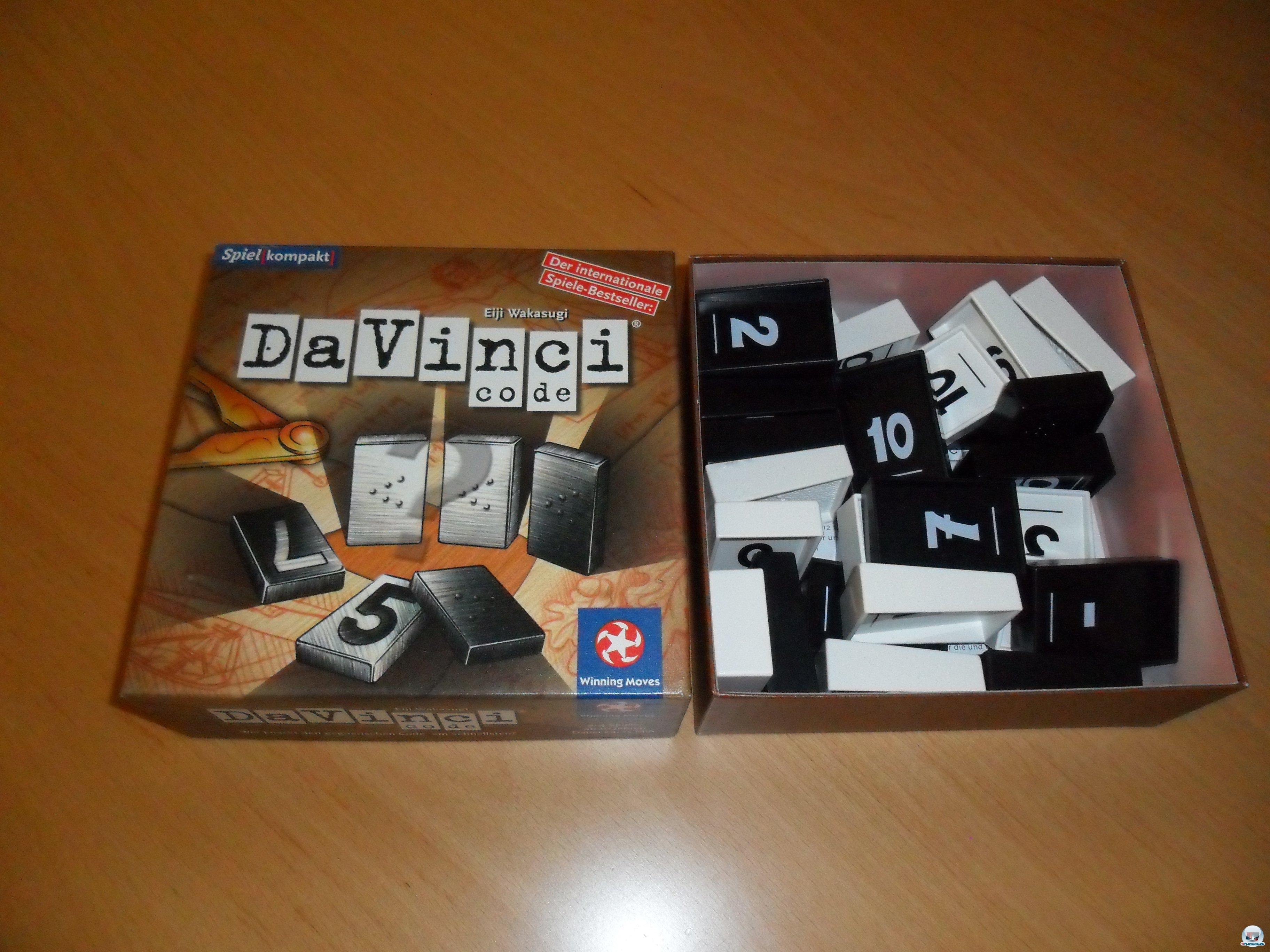 Da Vinci Code ist 2006 für knapp zehn Euro auf Deutsch bei Winning Moves erschienen.