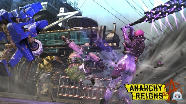 Screenshot - Anarchy Reigns (PlayStation3) 2246317