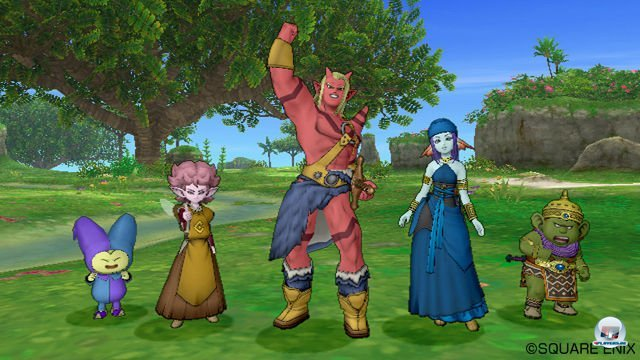Screenshot - Dragon Quest X Online (Wii) 2273332