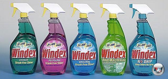 Ein Tipp unter uns Hausfrauen und Müttern: Wann immer ihr in die USA fliegt, nehmt euch auf dem Rückweg eine Flasche <b>Windex</b> mit oder zwei. Ehrlich, es gibt keinen besseren Haushaltsreiniger! Und wie wir spätestens seit My Big Fat Greek Wedding wissen, hilft Windex auch gegen so ziemlich jede Krankheit. 2037073