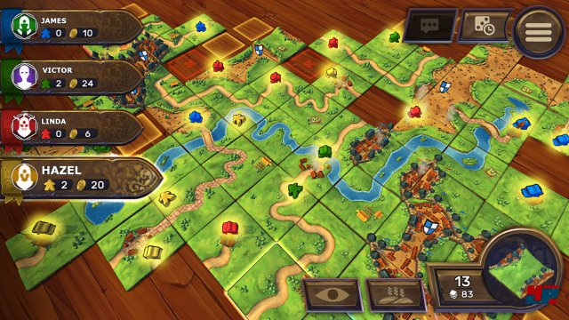 Screenshot - Carcassonne - Tiles & Tactics (Android)