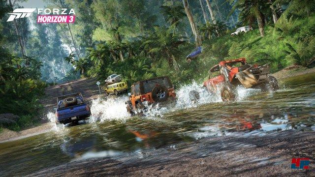 Strand, Wüste, Wald und Wiesen: Forza Horizon 3 findet auf jedem Boden statt!
