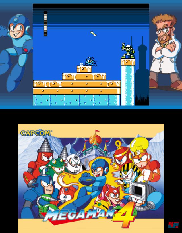 Als H�pfen und Schie�en noch enormes Frustpotenzial bargen: Willkommen bei Mega Man.