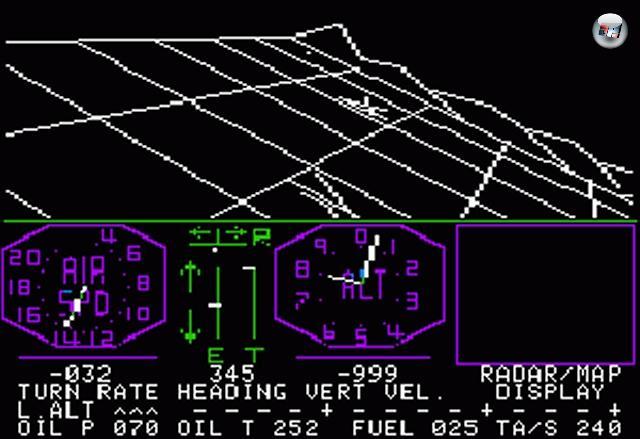 Das Substantiv »Simulation« beinhaltet das Verb »simulieren«, also etwas nachstellen. Will man den Flug von irgendetwas simulieren, kann man sich an die Ikarus-Methode wagen, die allerdings mit Risiken behaftet ist. Der Griff zum Computer ist weniger brandheiß, war aber lange Zeit aufgrund technischer Unfähigkeit nicht möglich. Denn wenn eine 3D-Welt simuliert werden soll, braucht's dafür auch 3D-Grafik - und die Rechner der Siebziger waren dazu einfach nicht in der Lage. Die erste wirkliche Simulation kam daher erst im Jahre 1980 auf den Markt, und war auch so pragmatisch wie möglich benannt: Flight Simulator. Aus dem kurze Zeit nach seiner Veröffentlichung der Microsoft Flight Simulator wurde; eine Serie, die 25 Jahre mit neun Nachfolgern und gefühlt 17 Millionen Erweiterungen gesegnet wurde. Und dessen Entwickler Ende 2009 leider dicht gemacht wurde. 2097753