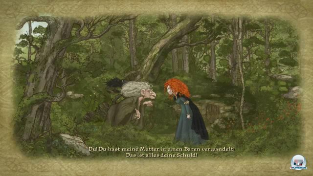 Screenshot - Merida - Legende der Highlands (PC-CDROM)
