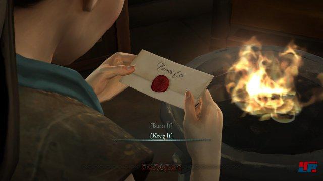 Auch Mira muss sich entscheiden: Den Brief von Tyrion verbrennen oder behalten?