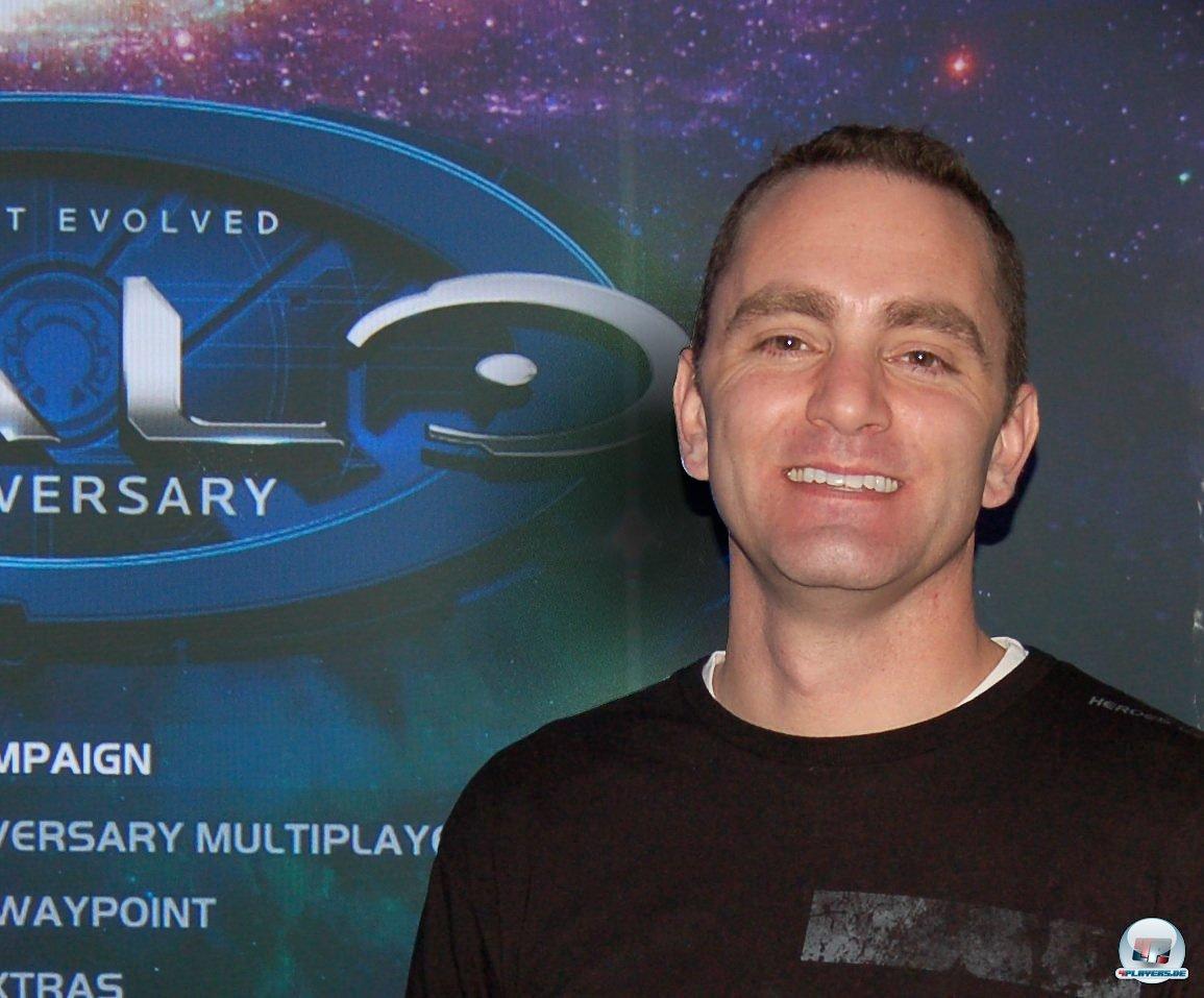 Producer Dennis Ries von 343 koordiniert die Zusammenarbeit mit Saber Interactive.