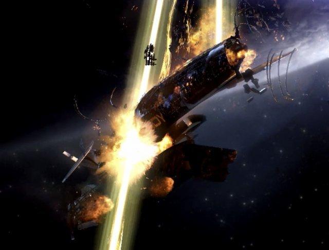 Angriff auf die Normandy <br><br>  Kein guter Start: In einem abgelegenen Winkel des Universums wird die Normandy von einem gigantischen Schiff unbekannter Herkunft attackiert und zerstört. Viele Crewmitglieder sterben - neben Navigator Pressly bezahlt auch Shepard mit seinem Leben und erstickt neben den Wrackteilen einsam im Weltraum. 2326067