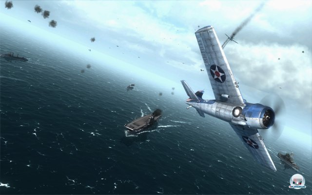 Screenshot - Air Conflicts: Pacific Carriers (PC-CDROM)