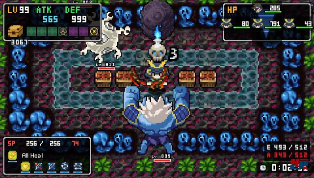 Screenshot - Cladun Returns: This Is Sengoku! (PC)