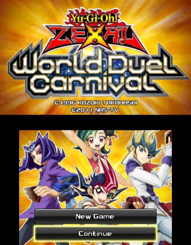 Screenshot - Yu-Gi-Oh! Zexal World Duel Carnival  (3DS) 92484620