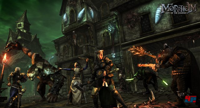 In der Stadt Mordheim kämpfen neben Imperialen, Skaven und Besessenen auch die Schwestern von Sigmar.