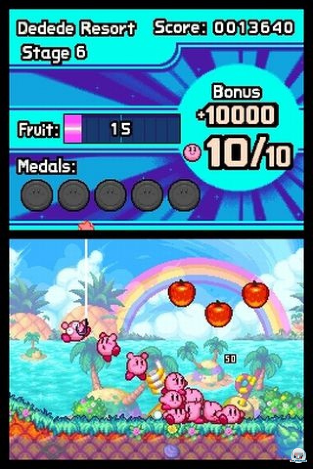 Screenshot - Kirby: Mass Attack (NDS) 2252042
