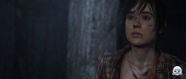 Auf ihrer Flucht wird Jodie von Chaos und Zerstörung begleitet.
