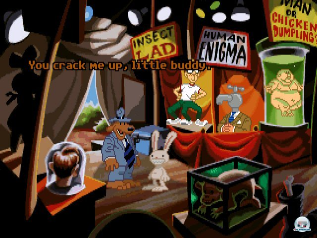 Screenshot - Sam & Max Hit the Road (PC) 92432017