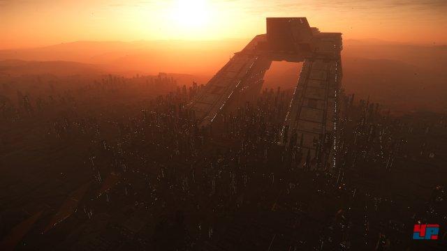 Lorville ist die Hauptstadt auf Planet Hurston.