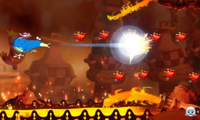 Screenshot - Rayman Origins (3DS) 2367022