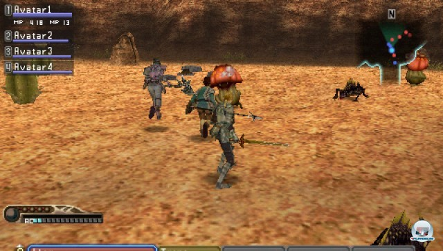 Screenshot - White Knight Chronicles: Origins (PSP) 2226984
