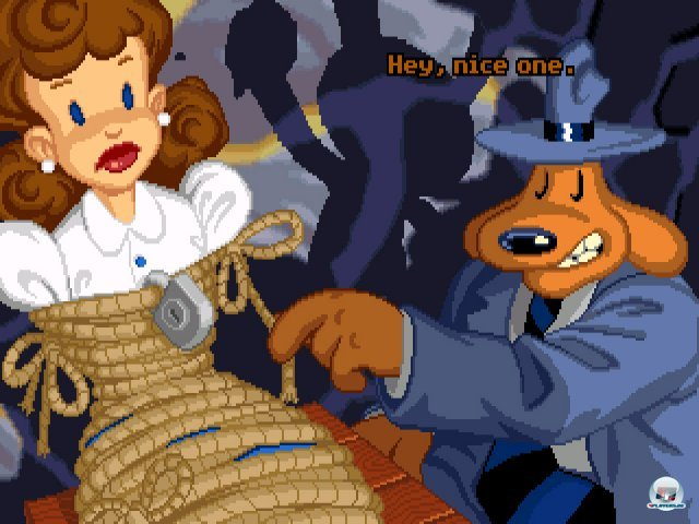 Screenshot - Sam & Max Hit the Road (PC) 92431552