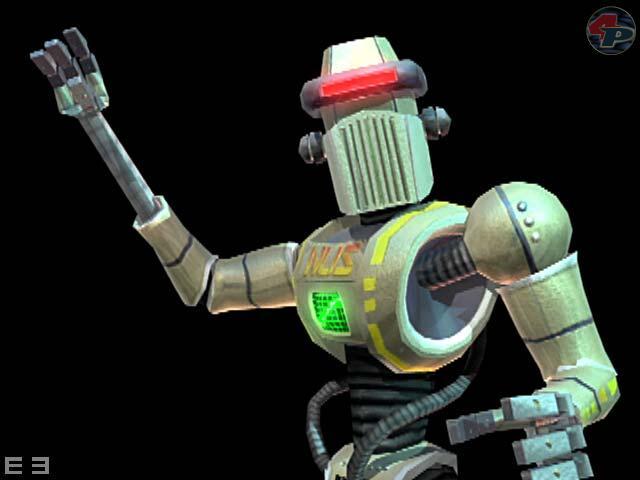 Rob der Roboter kümmert sich um Nachschub, wenn er nötig sein sollte 15007