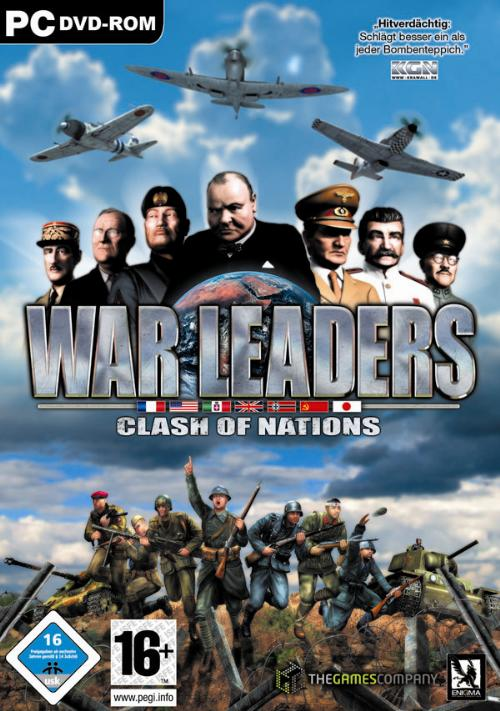 War Leaders - Clash of Nations Deutsche  Videos Cover
