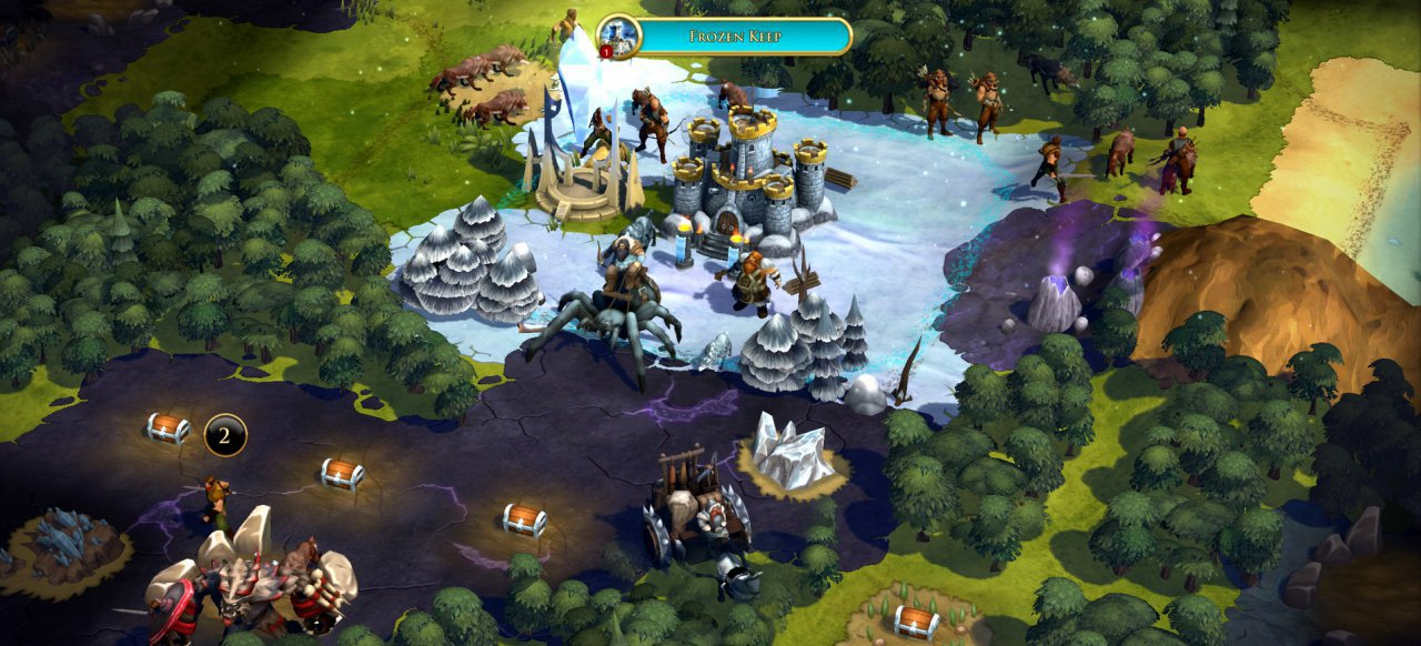 Sorcerer King: Rivals (Strategie) von Stardock Entertainment