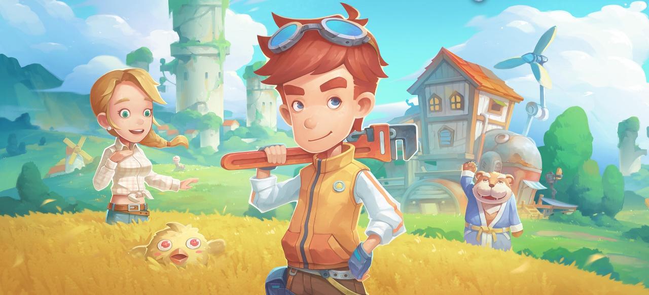 Als Baumeister in die Bauernhof-Idylle