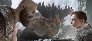 Wie schlägt sich Kratos mit Axt, Schild und Kind?