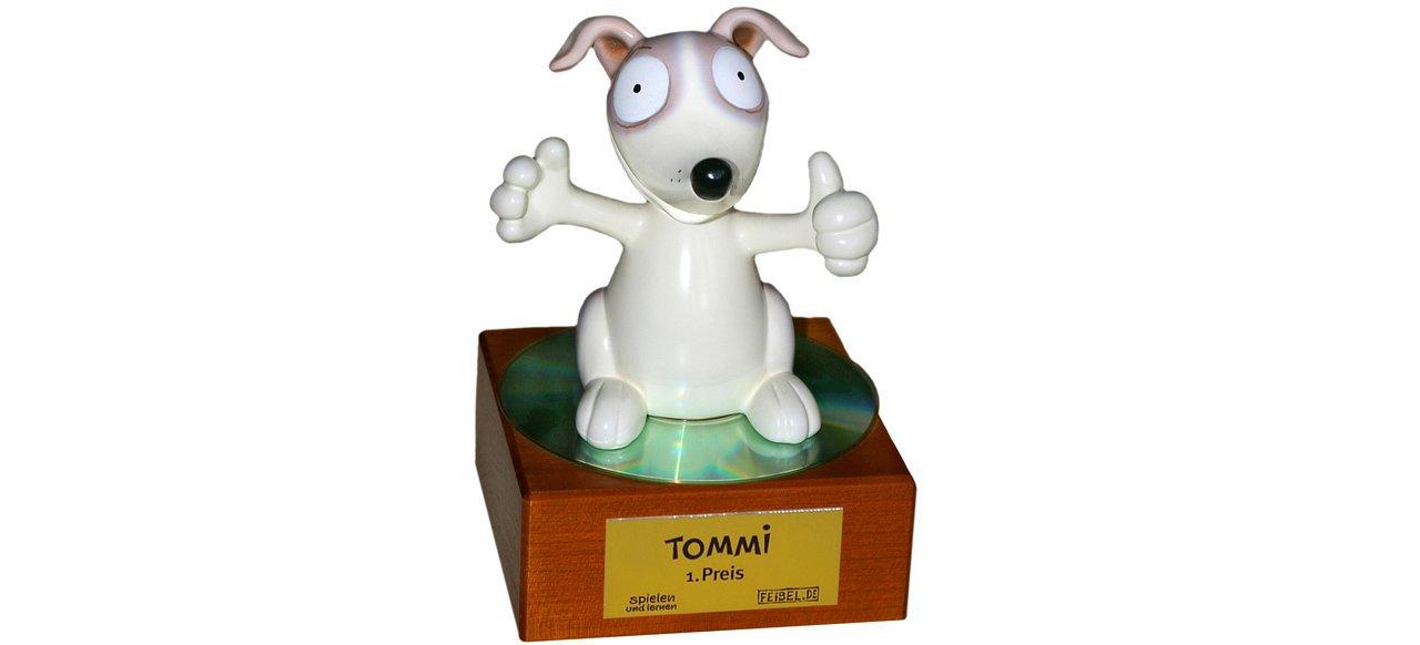 Deutscher Kindersoftwarepreis TOMMI (Events) von Family Media Verlag und Feibel.de