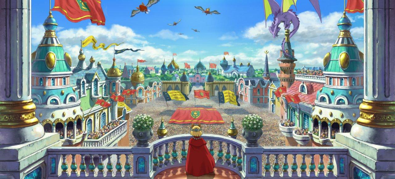 Märchenhaftes Anime-Rollenspiel