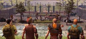 Spartanischer Gruppenkampf gegen Zombiehorden