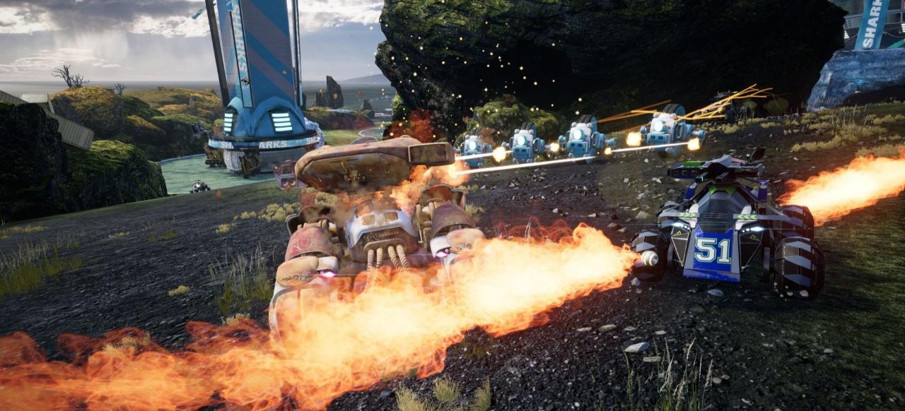 Switchblade (Rennspiel) von Lucid Games