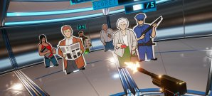 Mit der Robocop-Knarre und Dirty Harry's Magnum am virtuellen Schießstand
