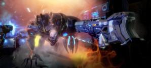 VR-Ballerbude im Stile von Time Crisis