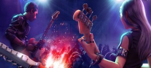 Kreativer Gitarrengott auf der virtuellen Bühne