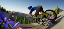 Lonely Mountains: Downhill: Mit dem Mountainbike vom Gipfel bis ins Tal: Kickstarter für das Arcade-Rennspiel