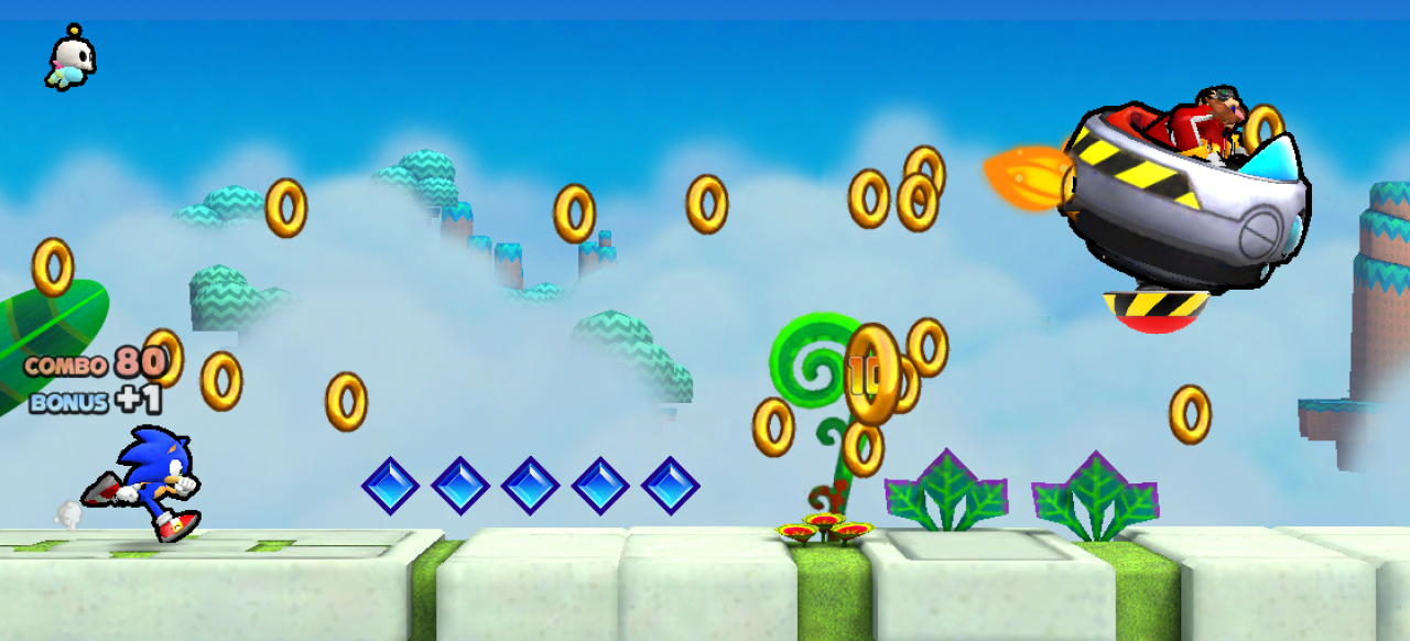 Sonic Runners (Geschicklichkeit) von SEGA