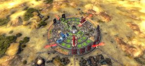 Rotierende Tower-Defense